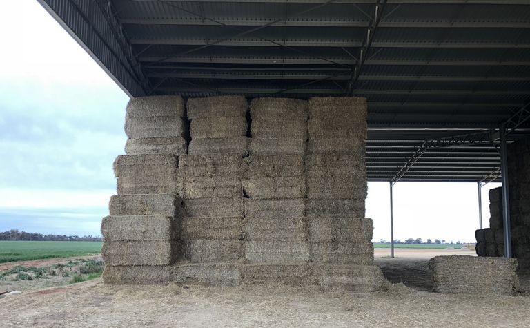 New tax law for fodder storage