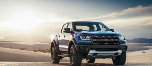 Ford Ranger Raptor takes off