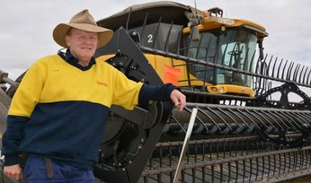 South Australian farmer targets harvester fire safety