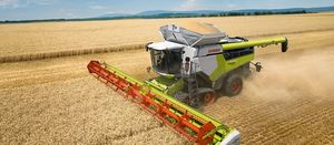 New Lexion harvester promises increased capacity