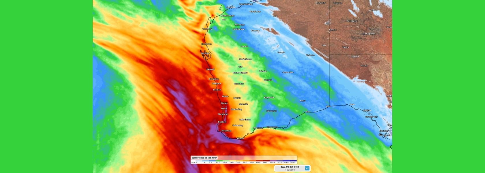 Promise of rain brings hope for Western Australia