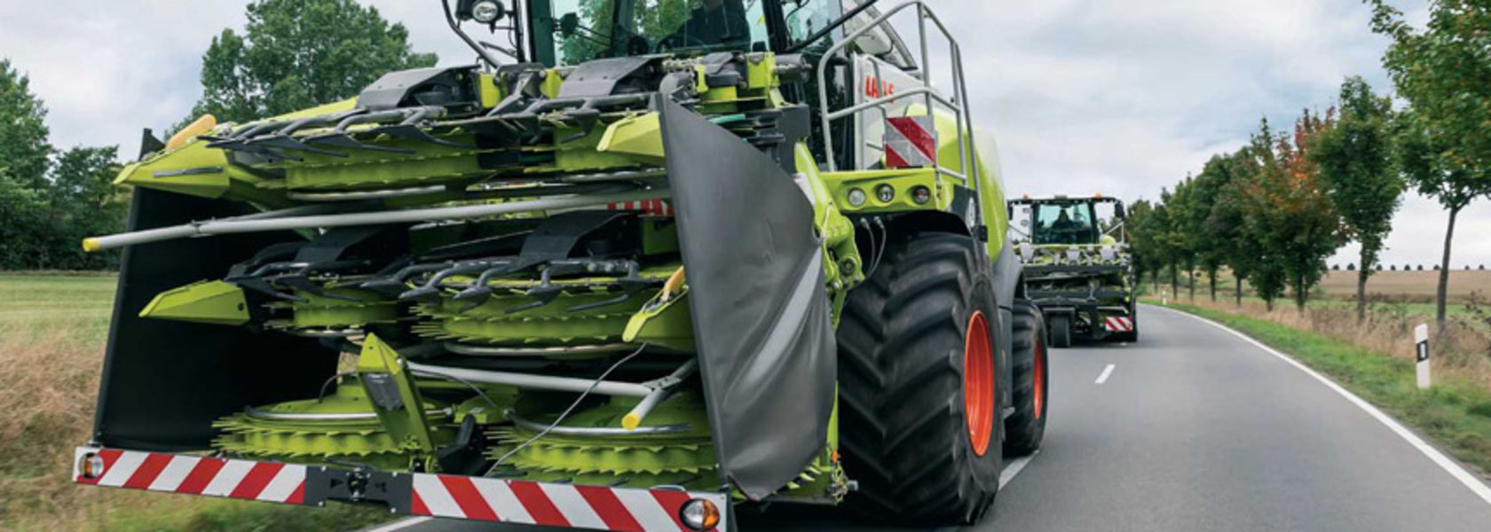 Claas teams up with BMW to enhance road safety