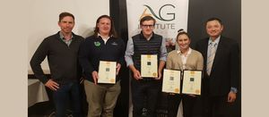 Major award presented to NSW agricultural science student