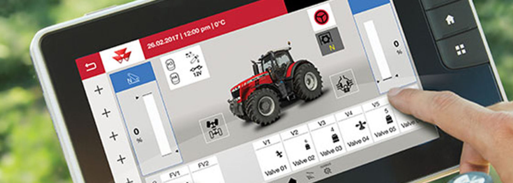 Massey and Challenger monitor upgrades