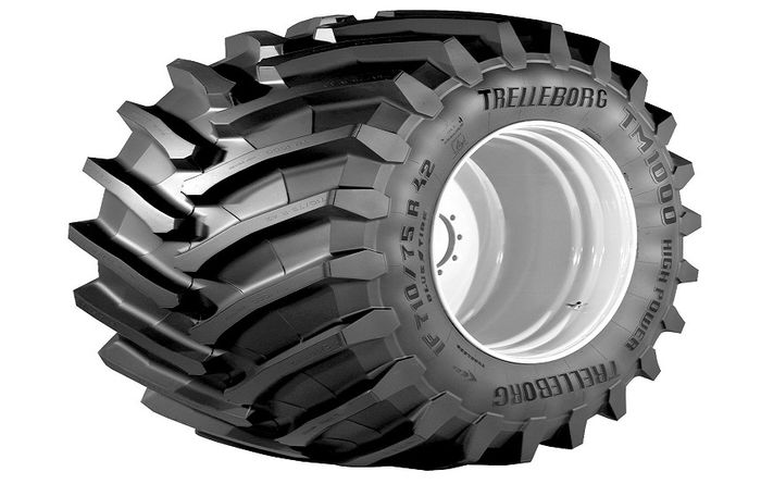 Trelleborg boosts traction capability of high power tractors