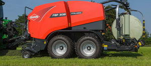 Kuhn wraps up another baler