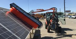 Kubota tractor provides clean power
