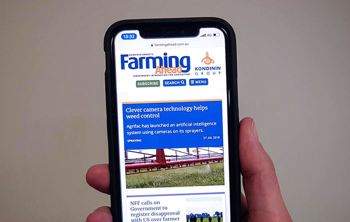 The new farmingahead.com.au is live