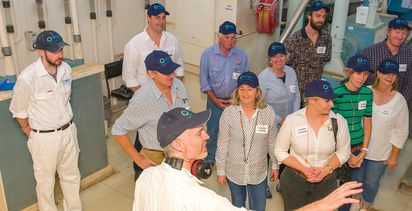 Tour teaches producers about key export markets