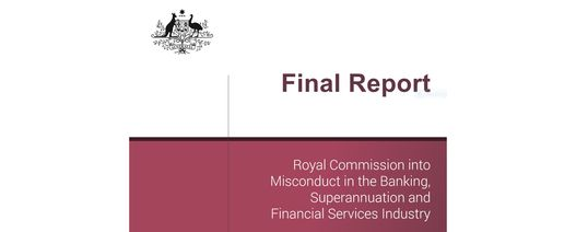 Royal Commission scathing of banks