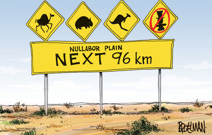OPINION: Turnbull Government blind beyond the Nullarbor