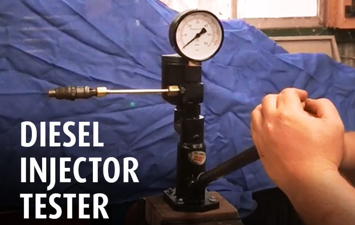 VIDEO: Diesel injector testing
