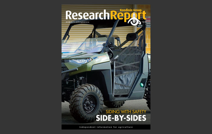 Farming Ahead Research Report: Siding With Safety ePublication, July 2020
