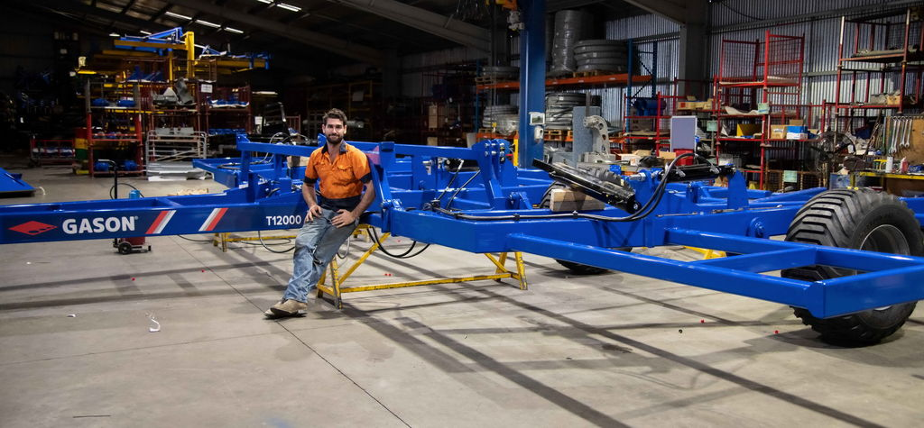 AF Gason to premiere T12000 bar at Wimmera Machinery Field Days