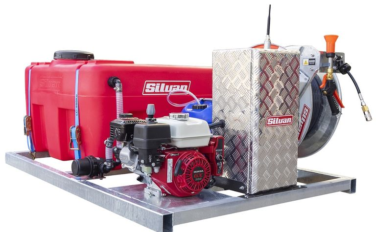 Silvan adds a dose of spraying safety