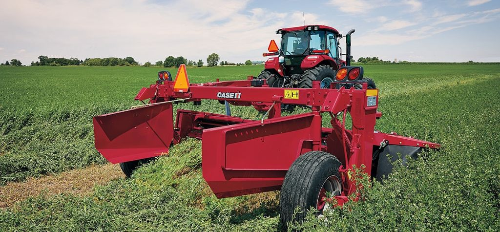 New Case IH mower-conditioner has revised flotation