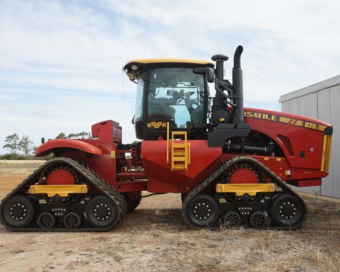 Versatile tractors now partnered with Trimble