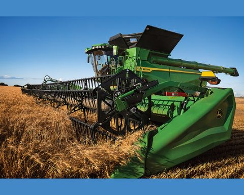 John Deere X9 harvester details released