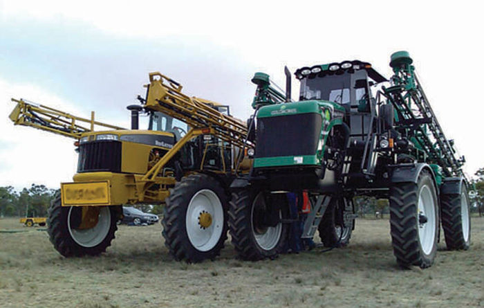 Self-propelled sprayers to be tested