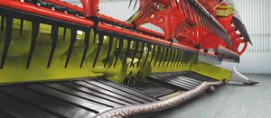 Claas flexes its harvester front muscles