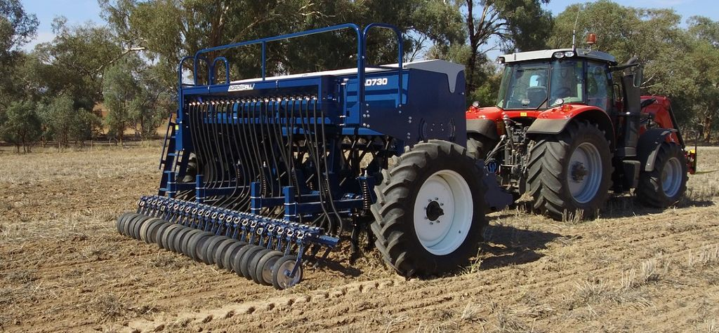 Agrowplow drill engineered to meet Australian conditions