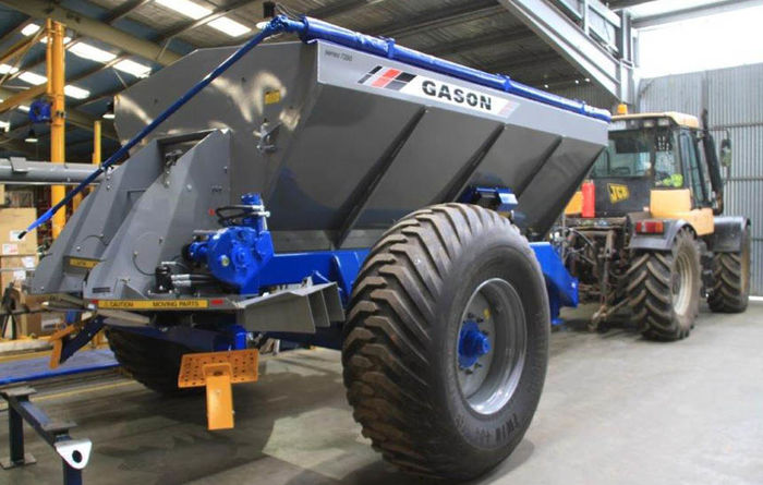 Gason nine and 12 tonne spreaders released