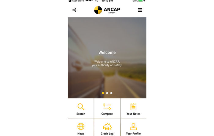 Launch of new 'ANCAP Safety' app