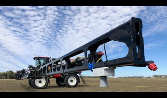 Self-propelled sprayer testing begins