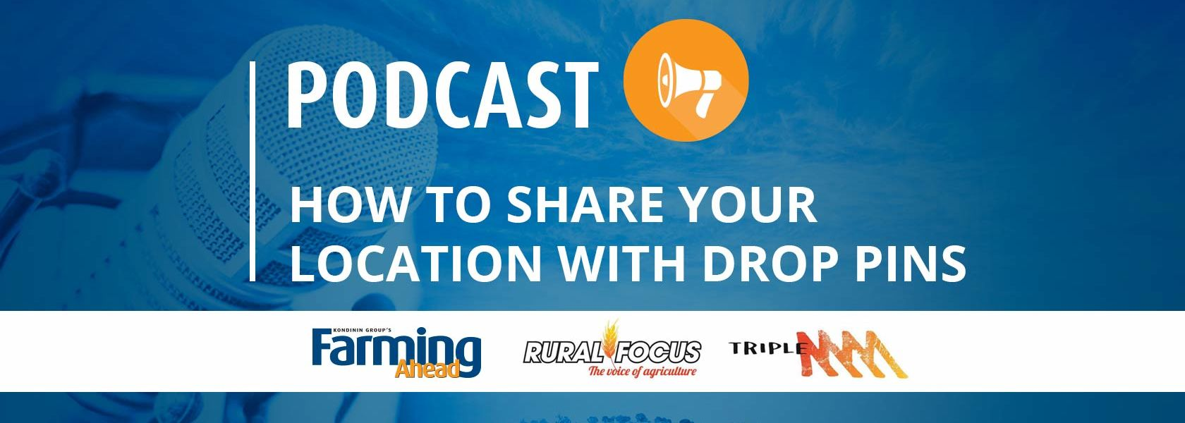 Podcast: How to share your location with drop pins