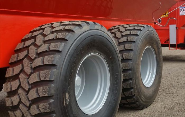 Harvest Tyres' new radial flotation rubber