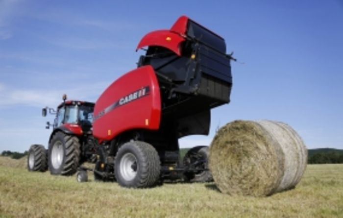 Case IH baler tackles the toughest crop conditions