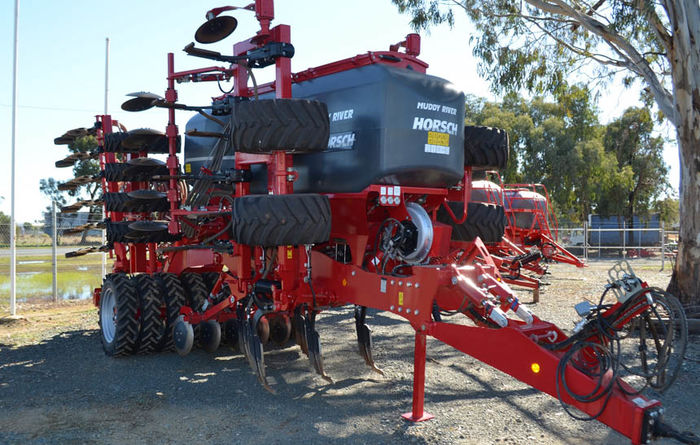 Horsch seeder is a ripper
