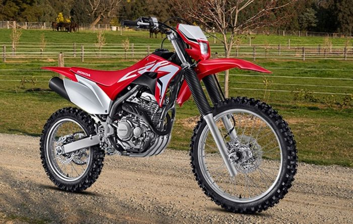 Honda's new 250 trail bike is well balanced