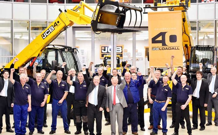 JCB celebrates birthday