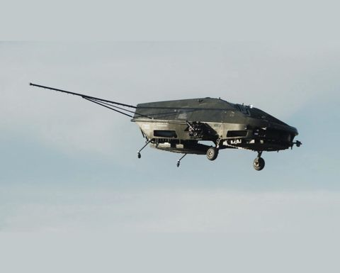 500kg lift UAV development takes off