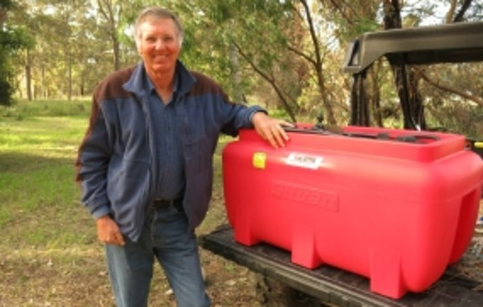 Silvan Selecta 200 litre sprayer prize a real winner