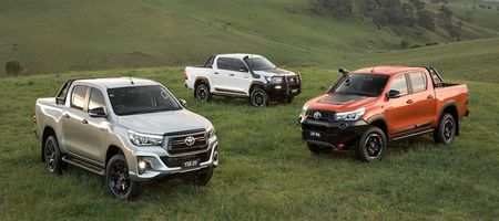 Hilux claims 2019 best seller prize