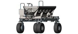 Spreader added to autonomous platform