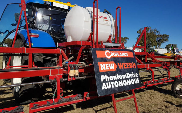 Croplands launches driverless spraying platform