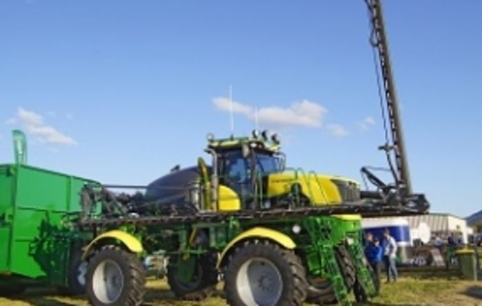 New SP debuts at AgQuip