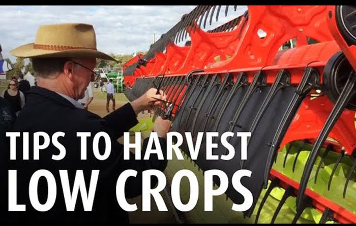 VIDEO: Optimise front for light crop harvests