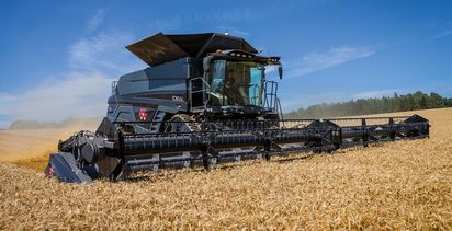 New IDEAL harvesters from Massey Ferguson