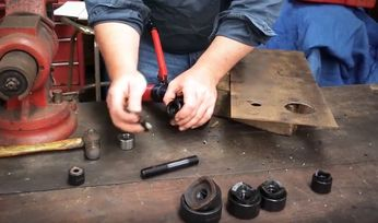 Video: How to use a chassis punch set