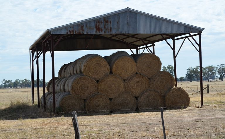 CFA issues warning for haystack fires