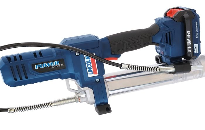 SKF offers new Lincoln PowerLuber grease gun