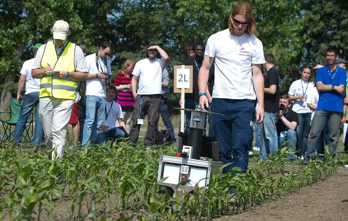 High tech field days held in Germany