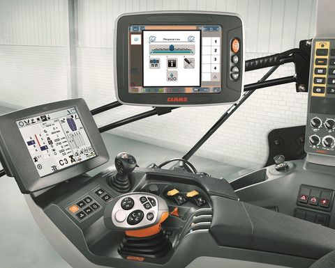 CLAAS jumps aboard the ISO-BUS