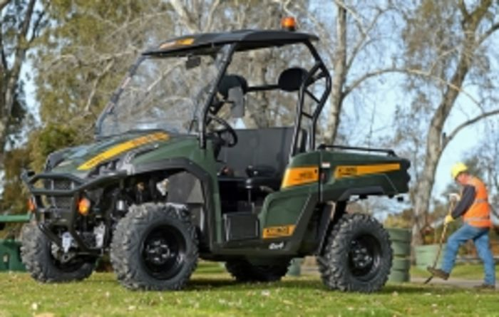 Diesel UTV hits the market