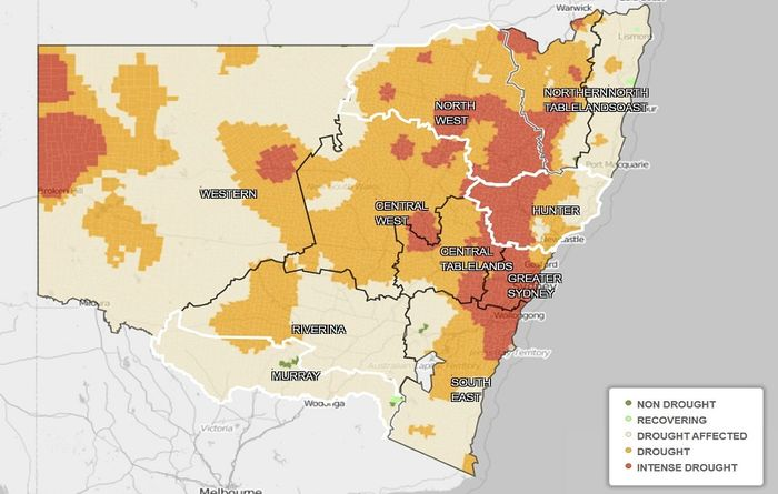 NSW adds $500 million to drought assistance