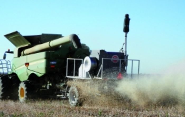 Target harvest for weed seed destruction